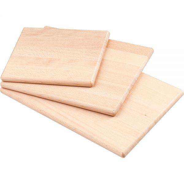 Deska drewniana gładka