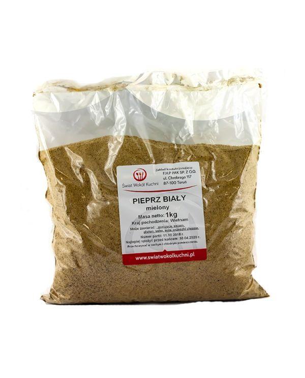 Pieprz biały mielony 1kg